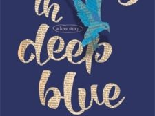 Book cover of Words in Deep Blue by Cath Crowley