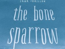 Book cover of The Bone Sparrow by Zana Fraillon