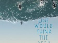 Book cover of One Would Think the Deep by Claire Zorn